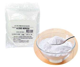 ácido bórico como remedio eficaz contra las cucarachas