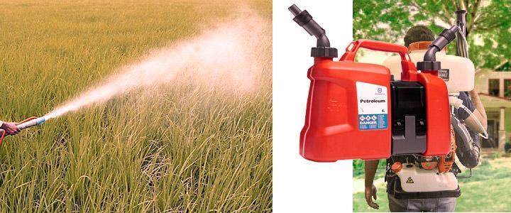 Características del fumigador pulverizador a gasolina
