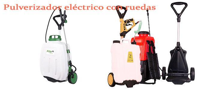 Pulverizadores eléctrico con ruedas