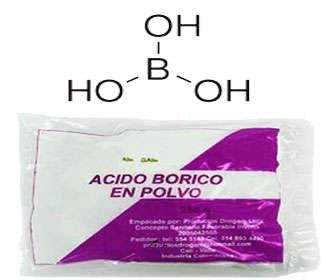 veneno para hormigas acido borico